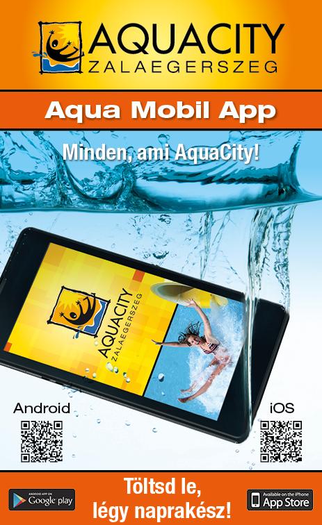 AquaCity mobilapp (HU)